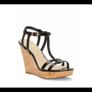 Jessica Simpson Strappy Wedge Sandal 6.5 m